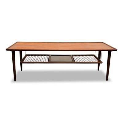 Deense stijl teak salontafel
