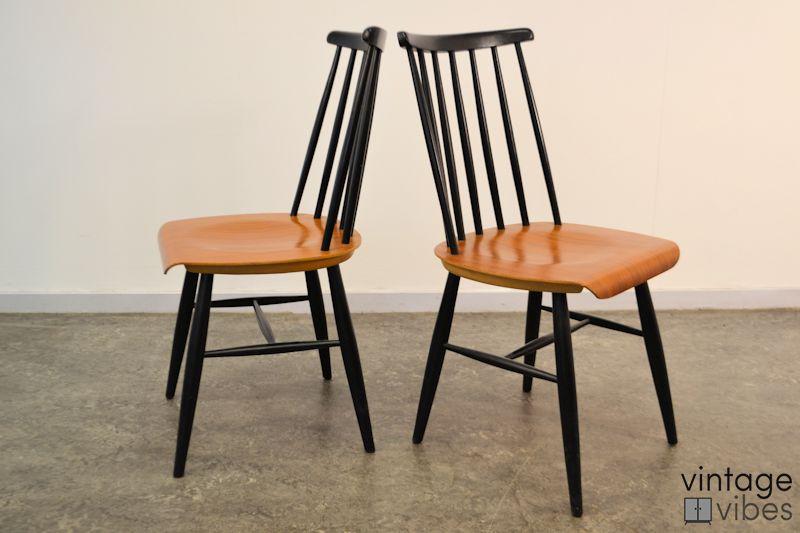 Vintage Tapiovaara stijl stoelen