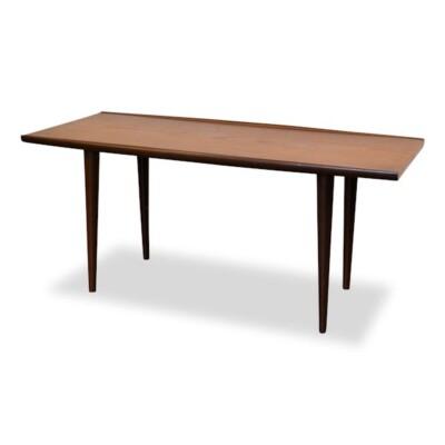 Midcentury Deense stijl teak salontafel