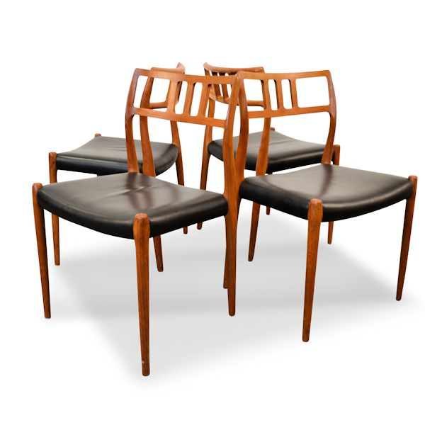Vintage VibesVintage No 79 Dining Chairs By Niels O M Ller
