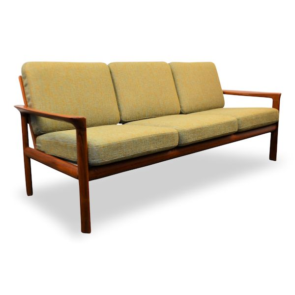 Danish Modern Sofa by Sven Ellekaer