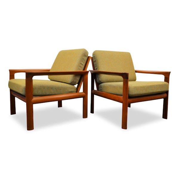 Danish Modern Easy Chairs by Sven Ellekaer