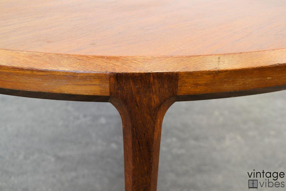 Johannes Andersen teak salontafel (detail)