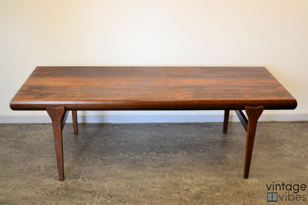 Danish Modern Coffee Table by Johannes Andersen - front and top
