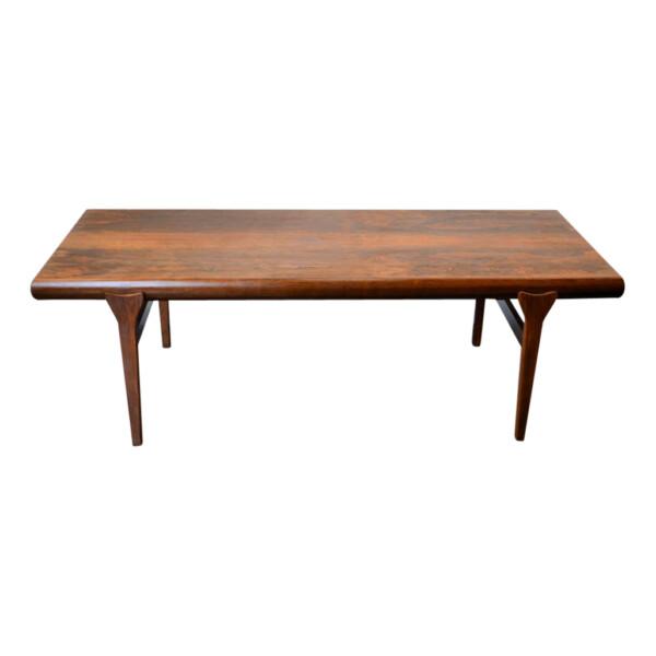 Vintage Johannes Andersen Brazilian rosewood salontafel