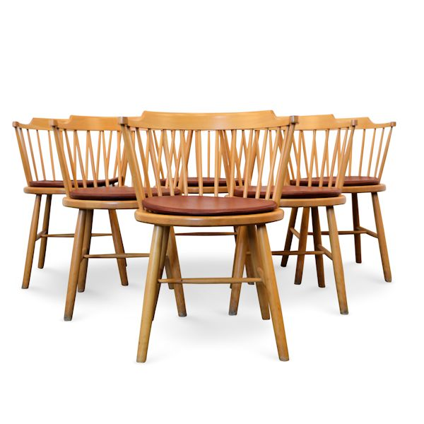 Danish modern Dining Chairs by Børge Mogensen