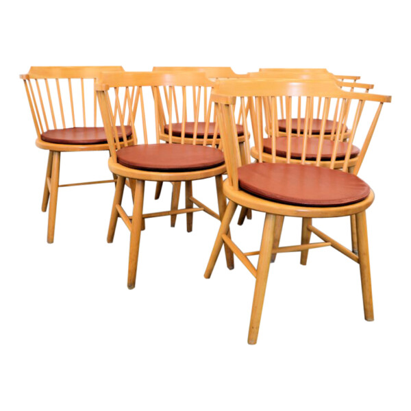 Børge Mogensen model 3249 eetkamerstoelen