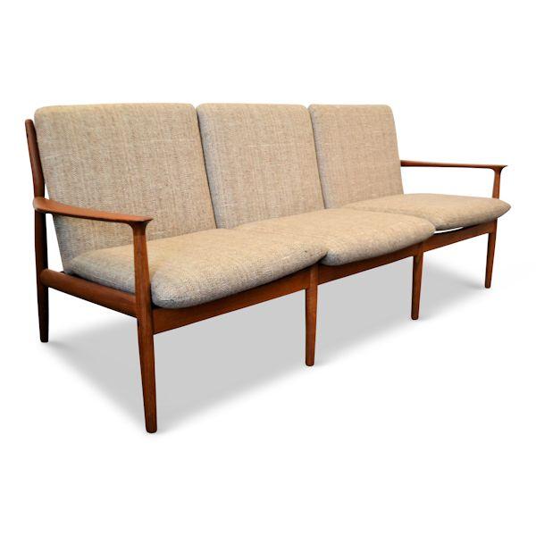 Vintage VibesDanish Modern Sofa by Grete Jalk