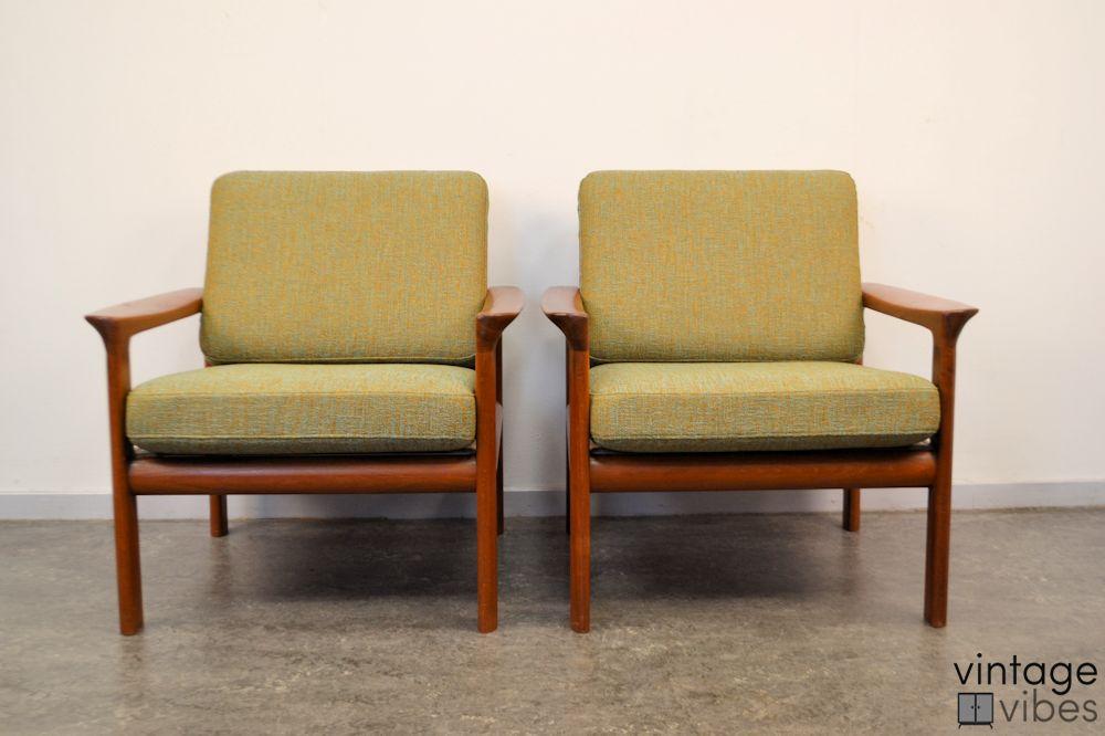 Sven Ellekaer Deens design fauteuils