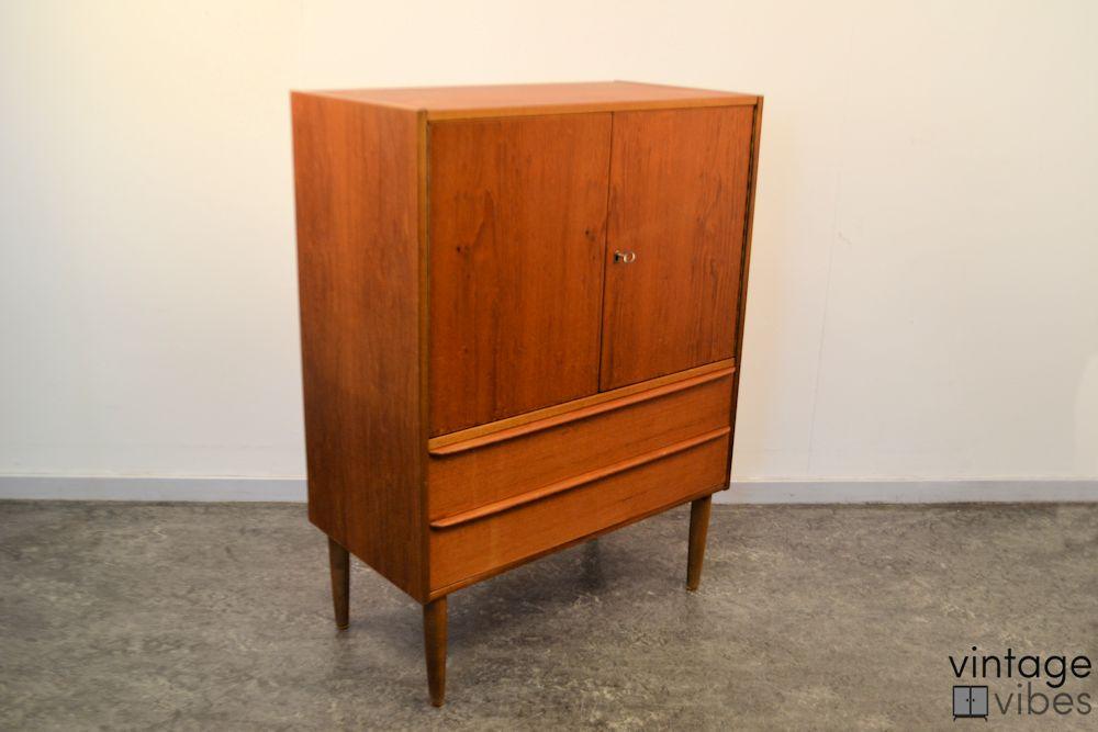 Danish Modern Teak Cabinet - side