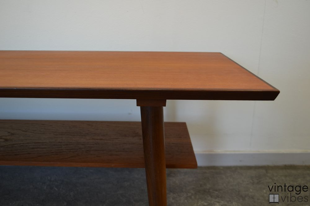 Danish Modern Teak Coffee Table - detail