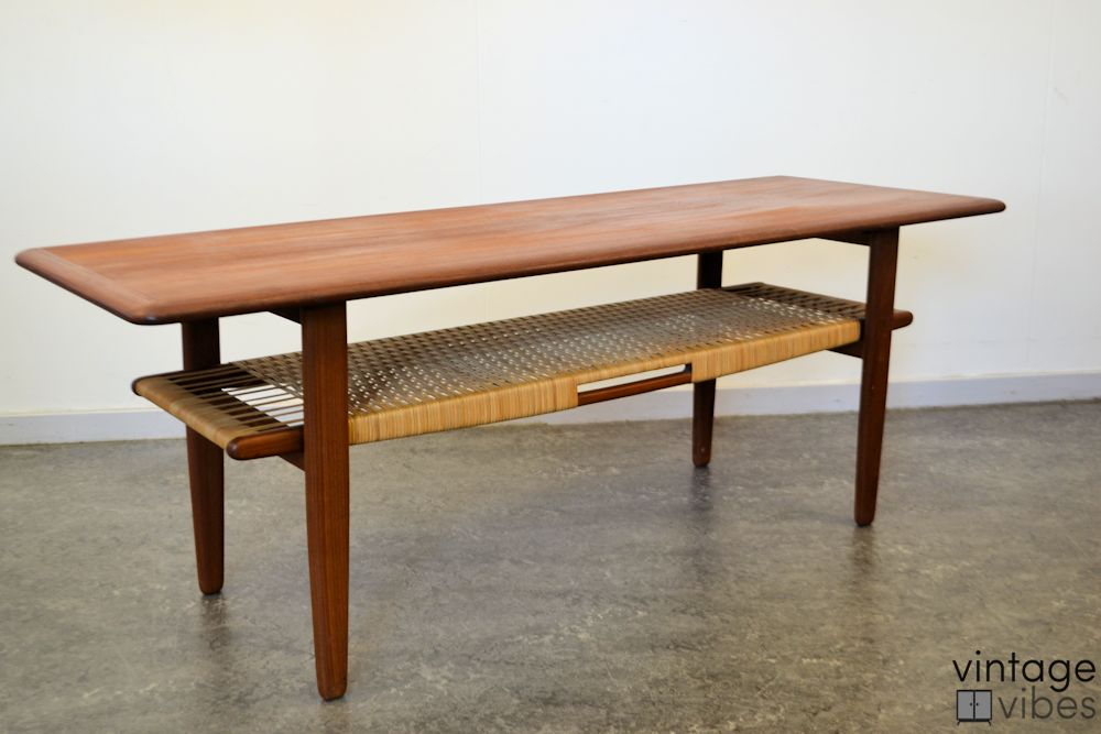 Danish Modern Kurt Østervig Coffee Table - side
