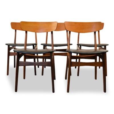 Schiønning & Elgaard teak stoelen