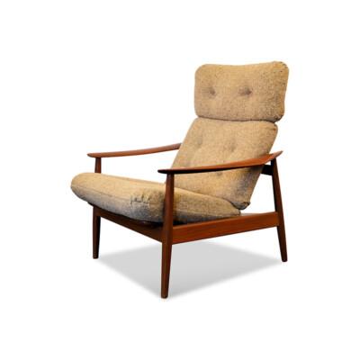 Arne Vodder FD164 teak fauteuil