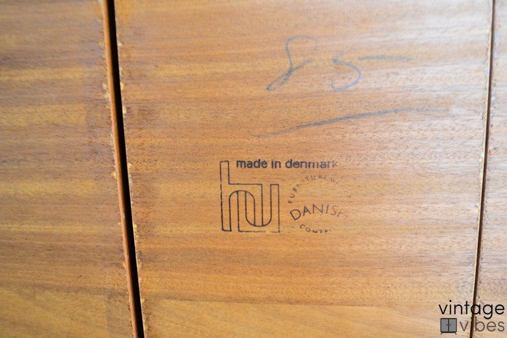 Danish Modern Poul Hundevad Dining Table - hundevad brand