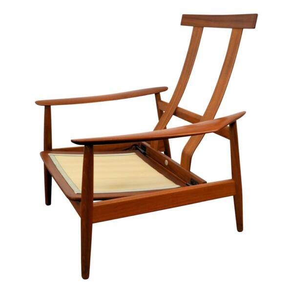 Vintage Arne Vodder FD164 Easy Chair - frame