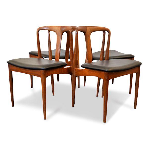 Danish Modern Johannes Andersen Dining Chairs