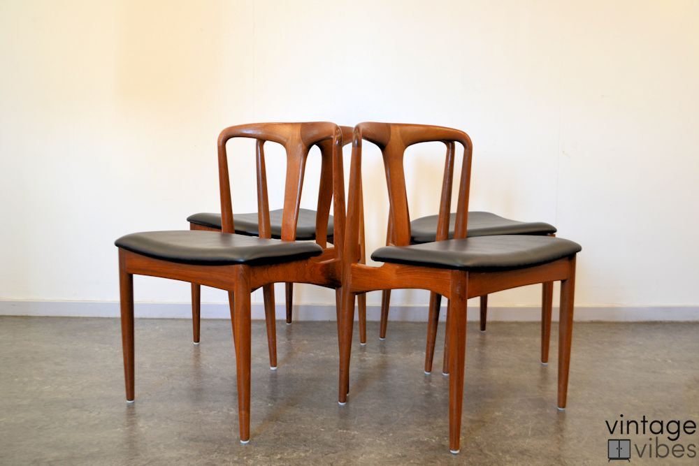 Vintage Johannes Andersen Dining Chairs Vintage Vibes