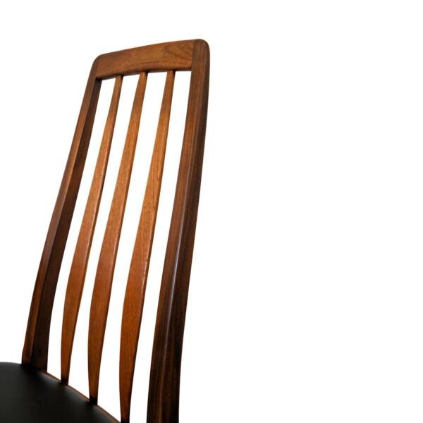 """Viintage stoelen van Niels Koefoed, type """"Eva"""" (detail)"""