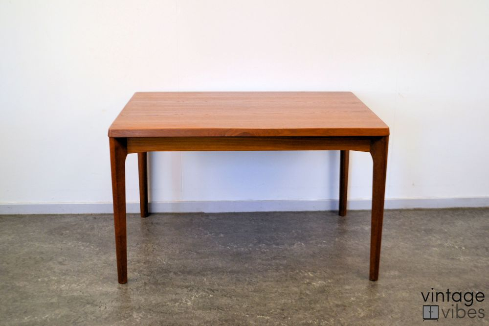 Danish Modern Henning Kjaernulf Dining Table - front and top