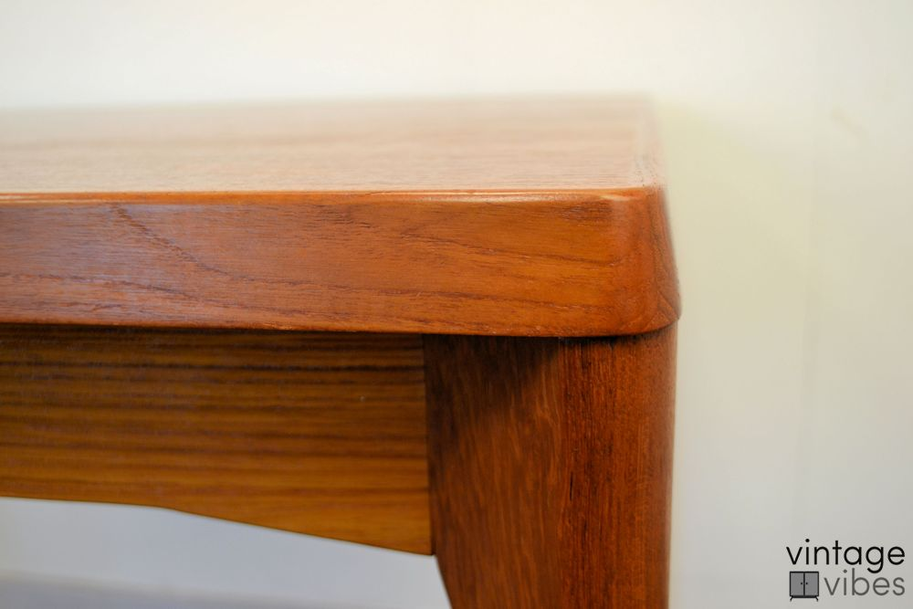 Danish Modern Henning Kjaernulf Dining Table - detail