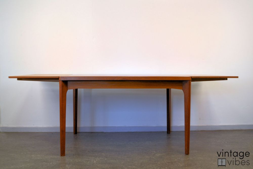 Danish Modern Henning Kjaernulf Dining Table - front