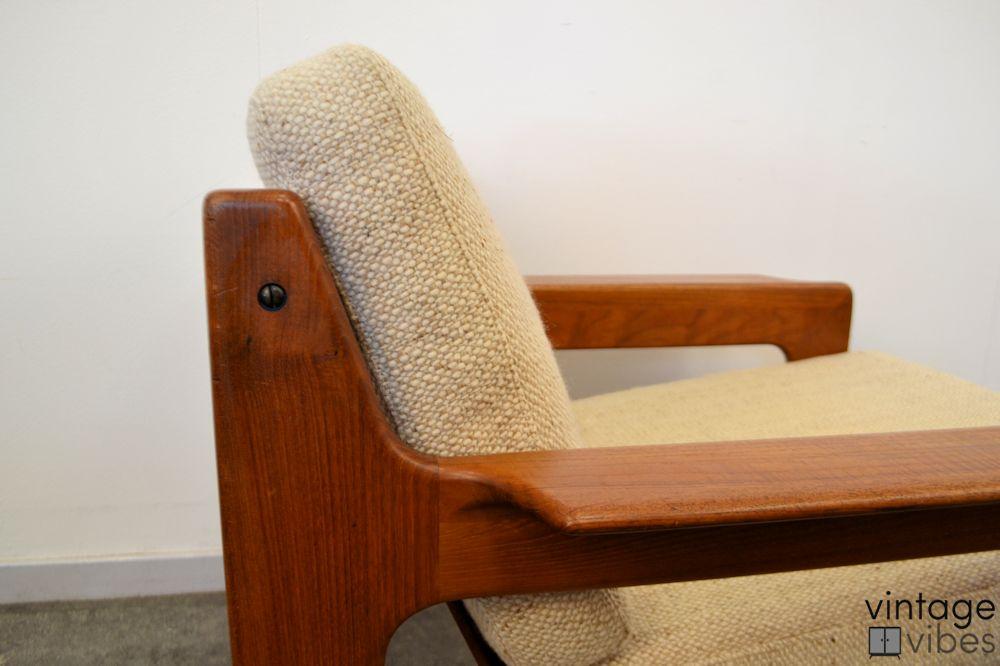 Danish Modern Arne Wahl Iversen Armchairs - detail