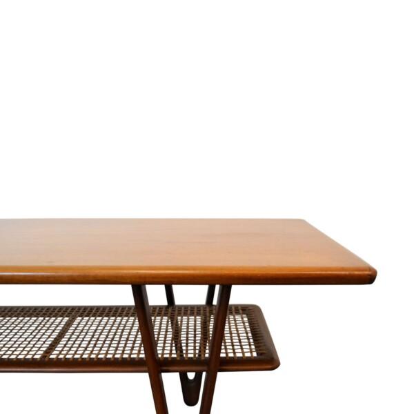 Vintage Deense Kurt Ostervig stijl salontafel