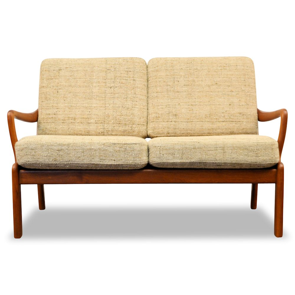 Danish Modern L. Olsen & Son Two-Seater Sofa