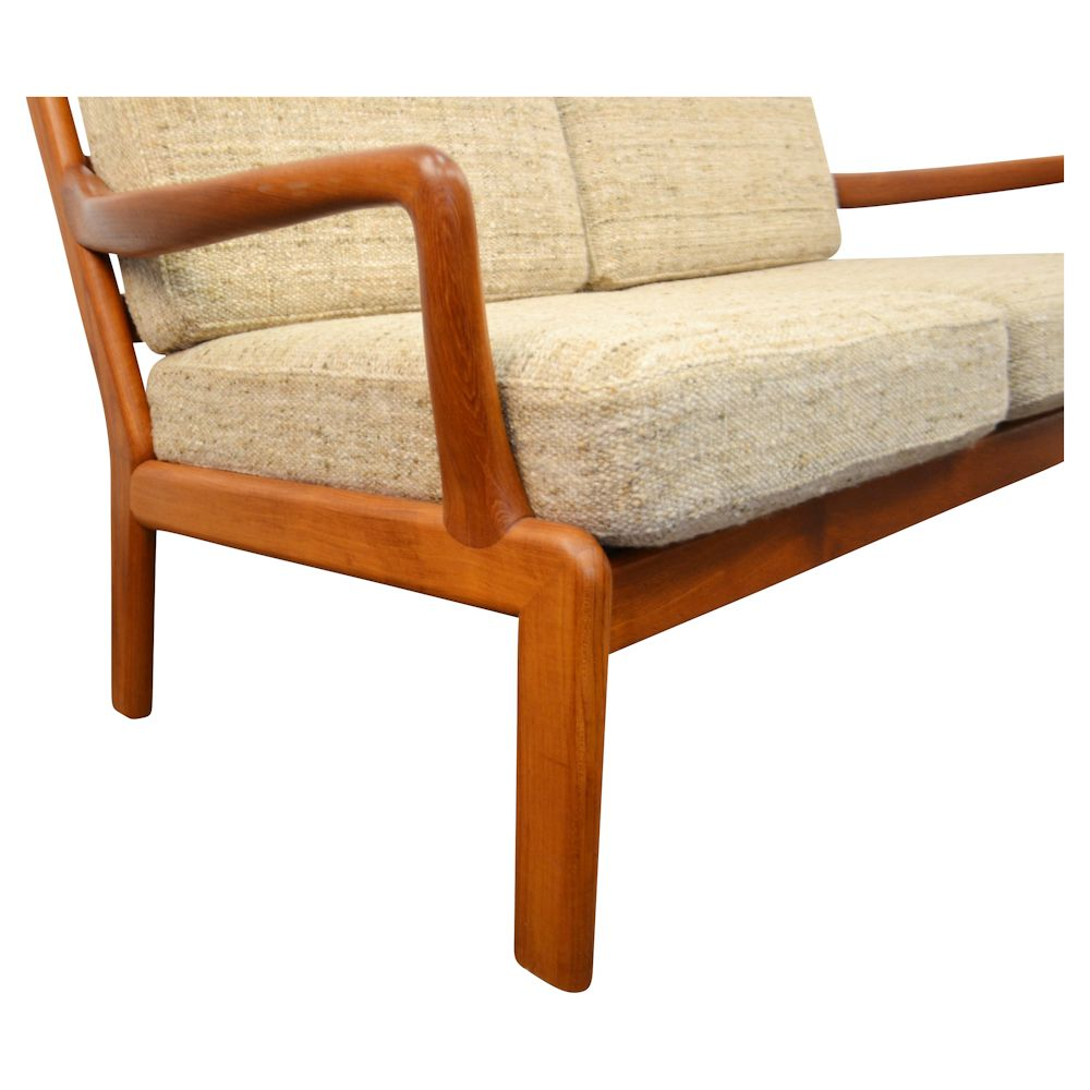 Danish Modern L. Olsen & Son Two-Seater Sofa - detail