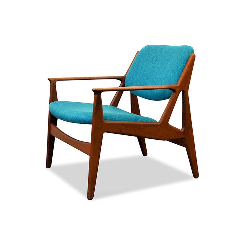 vodder teak fauteuil