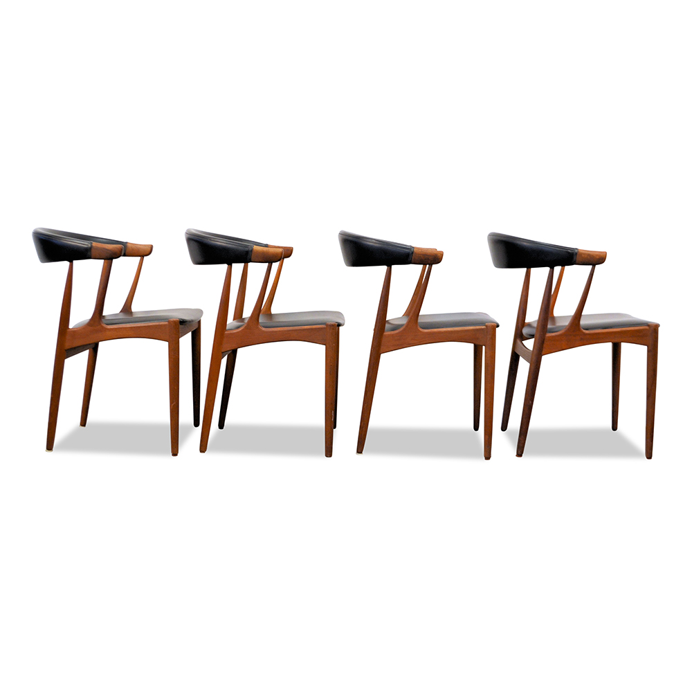 Johannes Andersen Dining Chairs - side