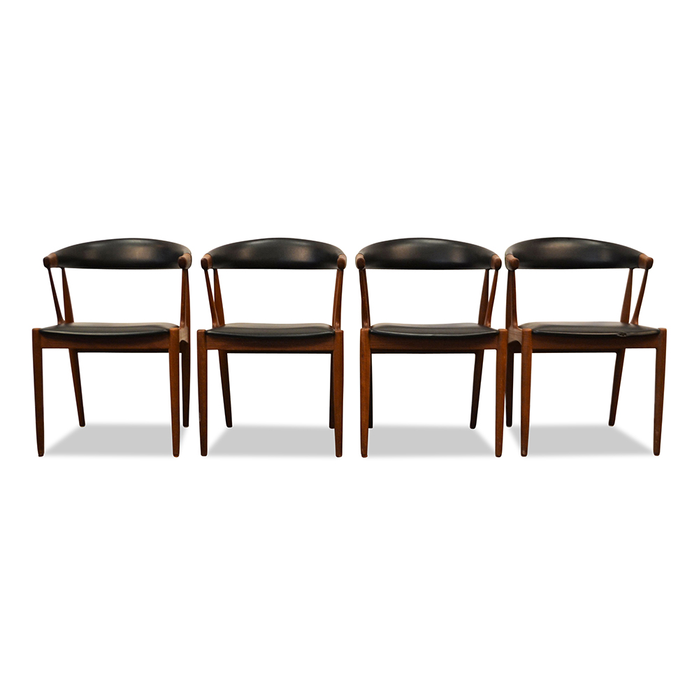 Johannes Andersen Dining Chairs - front