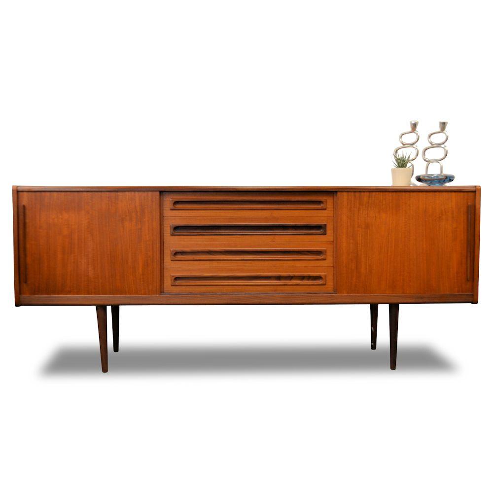 Midcentury modern Deens design teak dressoir