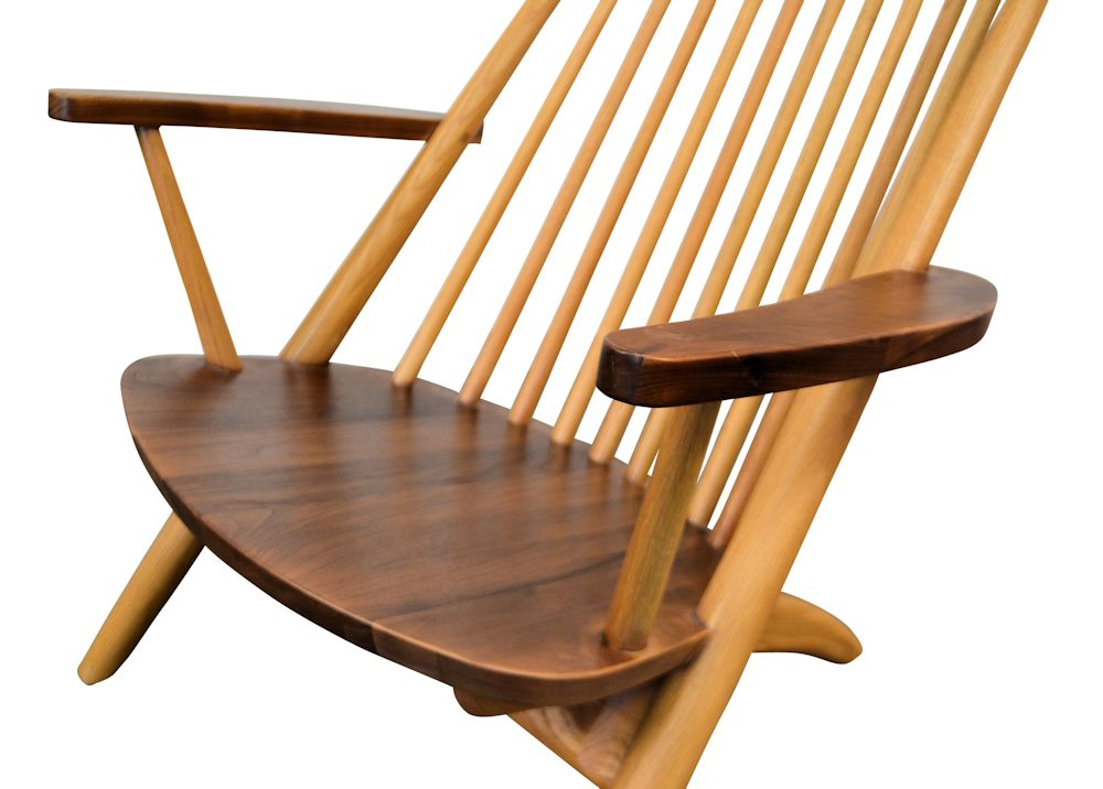 Tateishi Shoiji Lounge Chair - wood combination