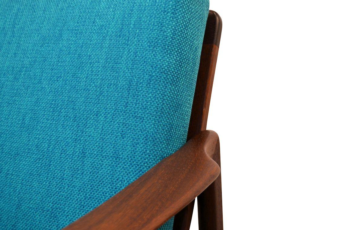 Vintage Deens design teak fauteuil (detail)