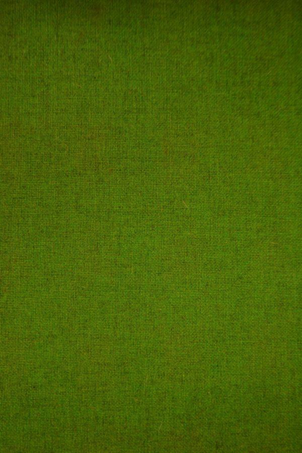Wollen fris groen bekleding