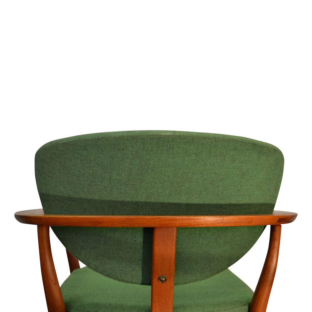 Mooie Retro Stoelen.Vintage Teak Fauteuils Finn Juhl Stijl Deens Design Vintage Vibes