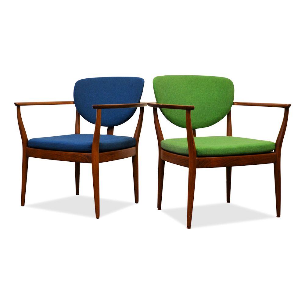 vintage teak danish design lounge chair vintage vibes
