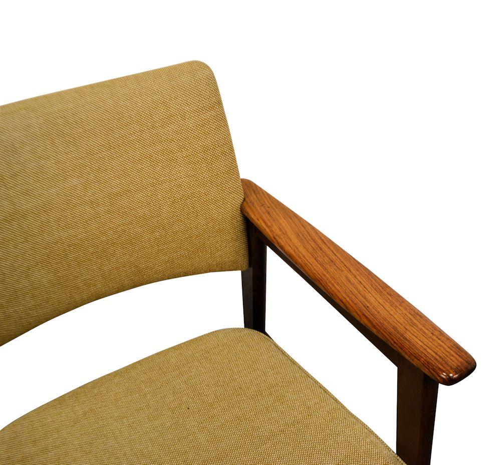 Erik Kirkegaard Palisander Armrest Chairs - detail armrest