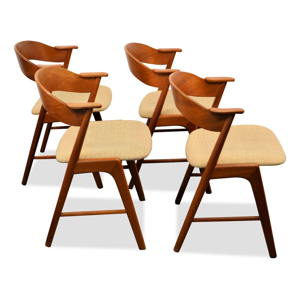 Vintage Danish Design Kai Kristiansen Dining Chairs