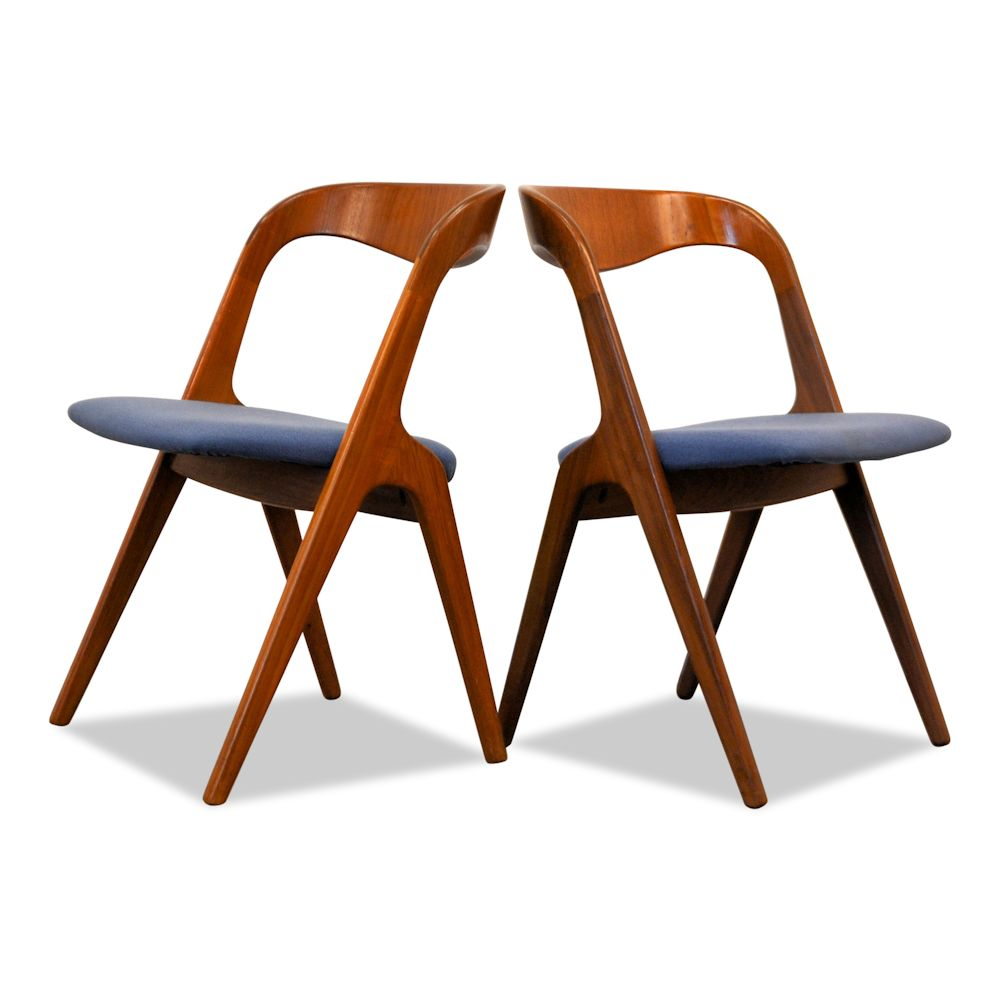 Teak Vamo Sønderborg Dining Chairs