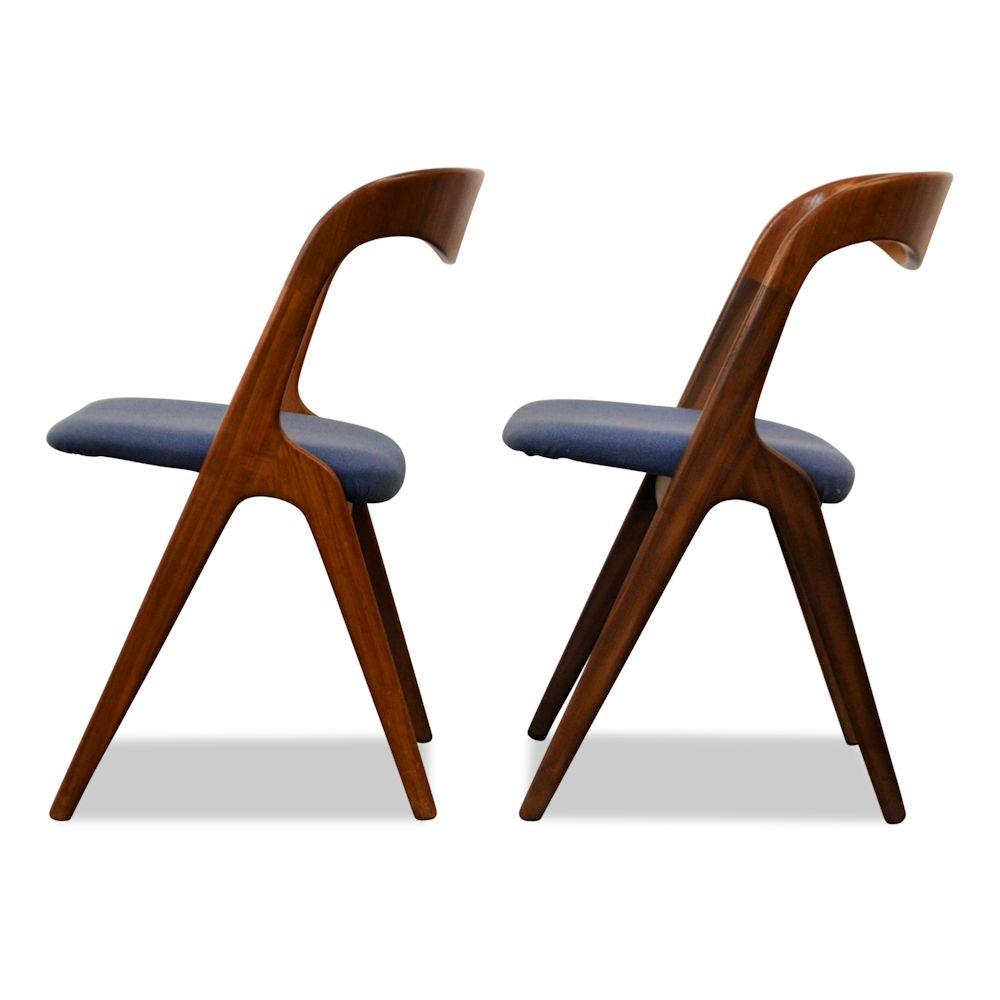 Teak Vamo Sønderborg Dining Chairs - side