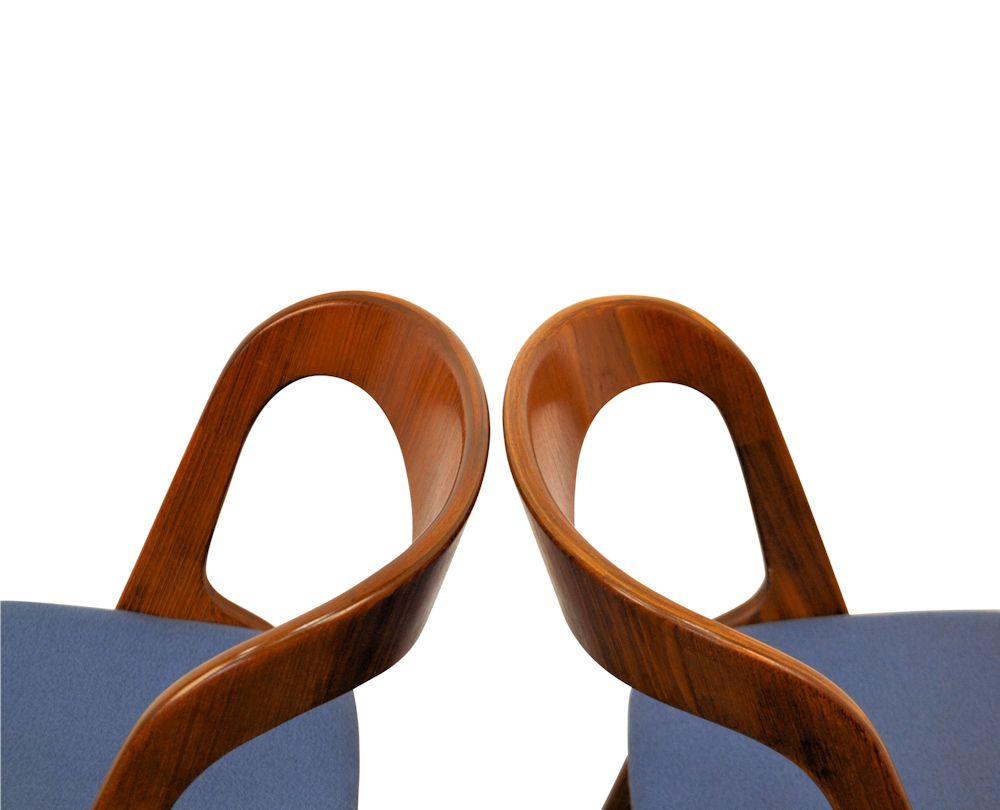 Teak Vamo Sønderborg Dining Chairs - detail