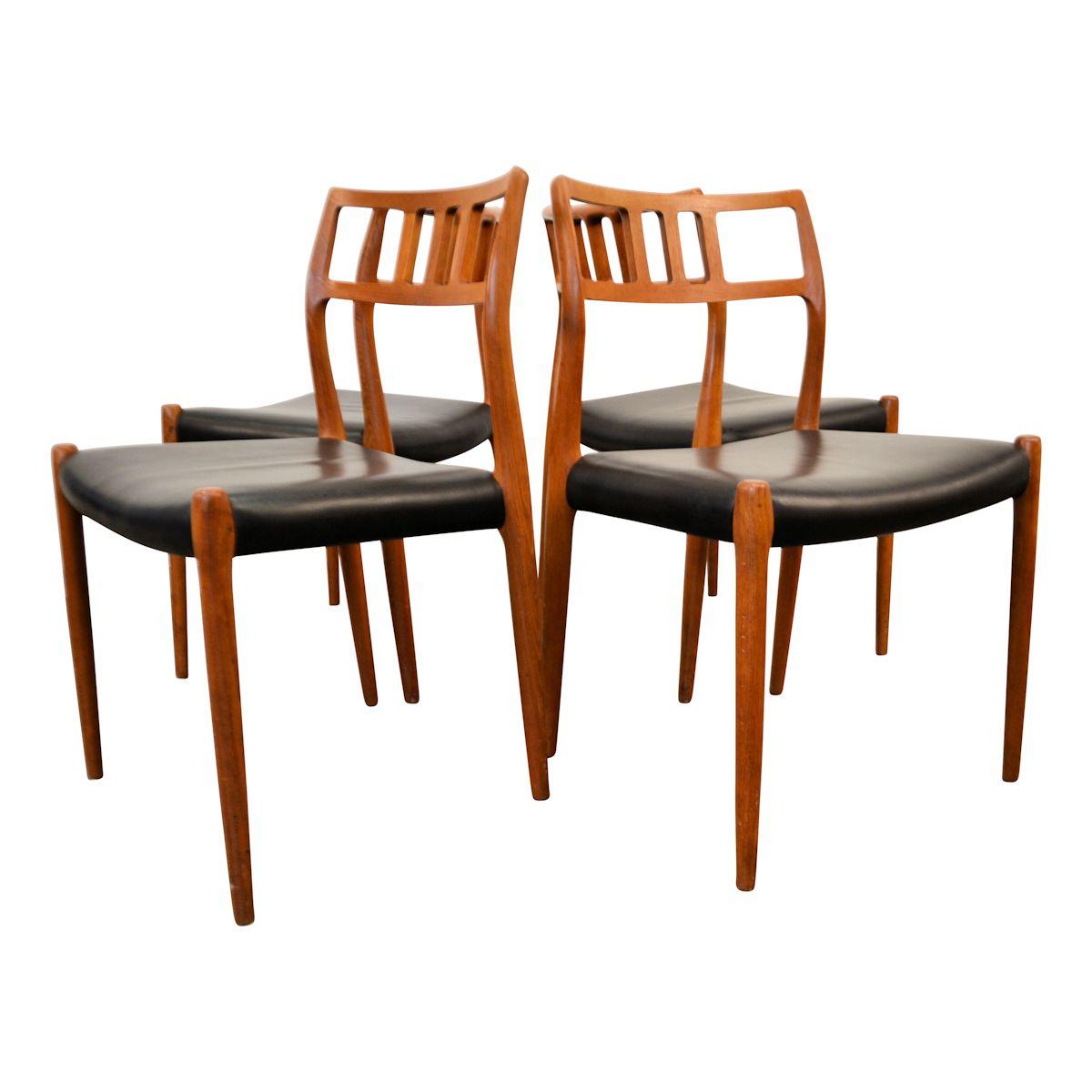 Vintage niels o m ller no 79 teak stoelen vintage vibes for Vintage stoelen