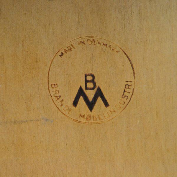 Merkstempel Brande Møbelindustri