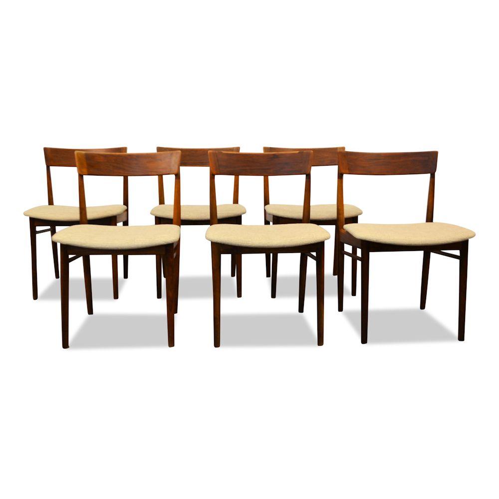 Rosewood Henri Rosengren Dining Chairs