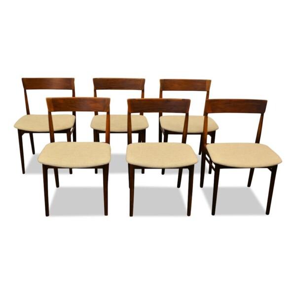Henry Rosengren rosewood stoelen