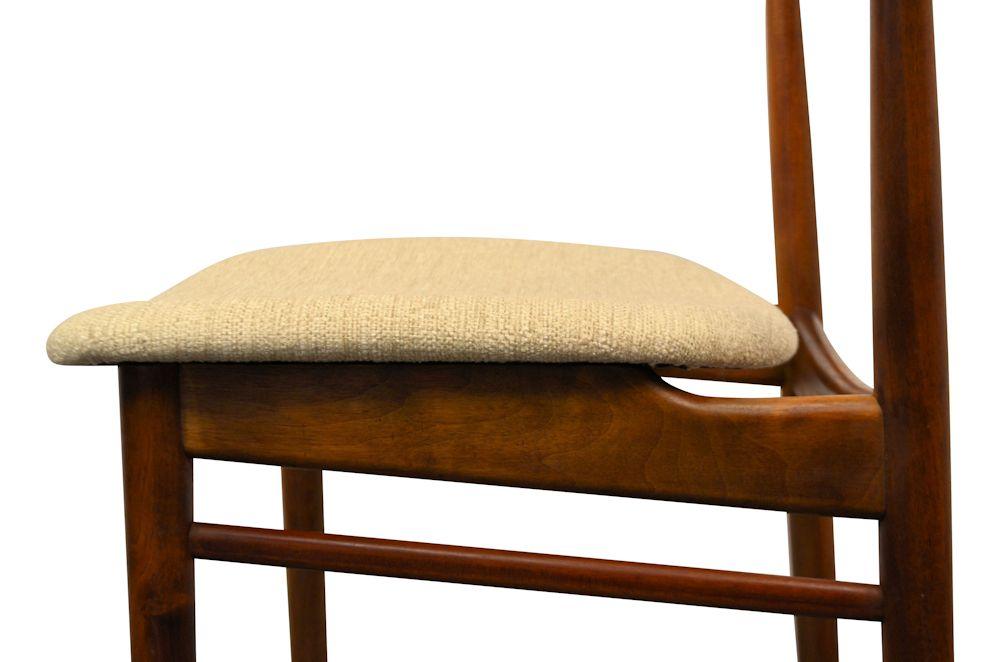 Rosewood Henri Rosengren Dining Chairs - detail upholstery