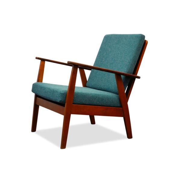 Vintage deense fauteuil uit de jaren 60 vintage vibes for Deense meubels vintage